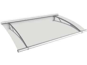 Auvent marquise de porte, 150 x 95 cm, LT-Line, transparent, fixations inox
