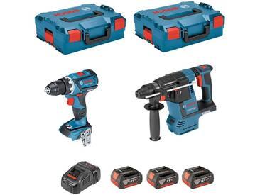 BOSCH Kit GSR 18V-60C + GBH 18V-26F (3 x 4,0Ah + GAL1880CV + 2 x L-Boxx 136)