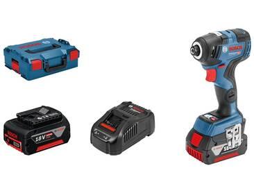 Bosch pro Visseuse à chocs sans fil GDR 18V-200 C 2 batteries 5,0 Ah 200 Nm, Lboxx 06019G4101