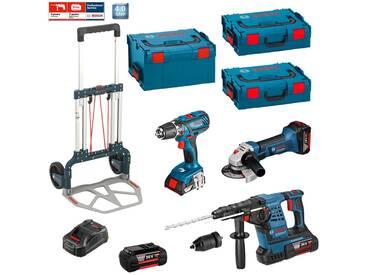 BOSCH Kit RSL3618M2 (GBH 36 VF-LI Plus+GWS 18-125+GSB 18-2-LI Plus+2 x 4,0 Ah 36V+2 x 4,0 Ah 18V+L-Boxx 238+2 L-Boxx 136+Caddy)