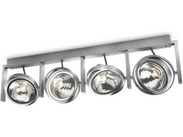 Plafonnier spots myLiving 4 x 60W - Philips 530644816