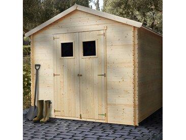 Abri de jardin bois 6,25 m2.
