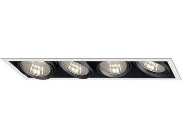 Collerette Ampoule halogène G12 Sygonix 34647X 280 W noir,argent
