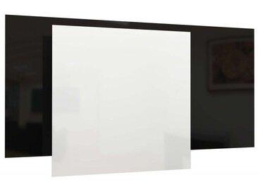 Panneau Rayonnant en Verre Blanc 850W - Ecosun Glass GS + régulation radio