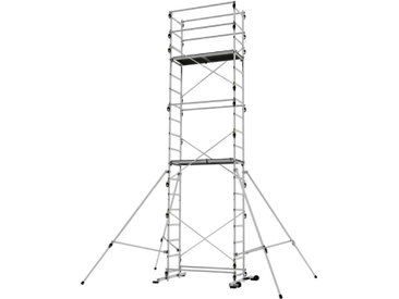 Echafaudage domestique: 6.65m haut. travail max