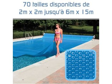 Bâche à Bulles 300 Microns pour piscine 5m x 10m - Linxor