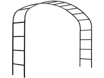 Arche de jardin 2m50 en acier galvanisé Ellipse
