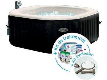 Spa gonflable Intex PureSpa Jets et Bulles 6 personnes + Kit dentretien + Kit de traitement au brome