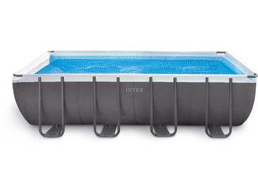 Piscine tubulaire intex 732 x 366 x 132 cm rectangulaire