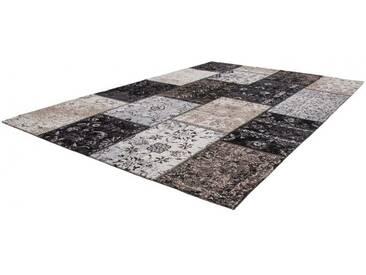 Tapis fait main en polyester Cocoon Lalee Argenté 200x290