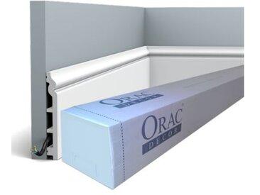 Carton de 16 mètres SX118 Plinthe Polymère Orac Decor Luxxus - rigideouflexible : rigide - conditionnement : Carton de 8 pièces