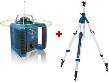 Pack GRL 300 HVG Laser rotatif de portée 300m à mise à niveau automatique + trépied Bosch 061599404A