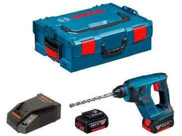 BOSCH GBH 18 V-LI Compact (2 x 4,0 Ah + GAL1880CV + L-Boxx 136)