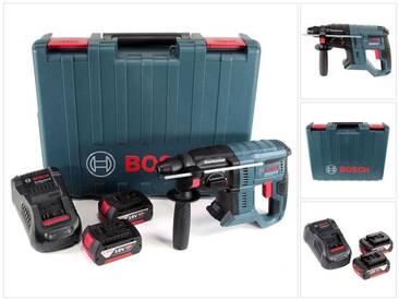 Bosch GBH 18V-20 Professional Perforateur sans-fil SDS-plus avec Boîtier de transport + 2x Batteries 4 Ah + Chargeur