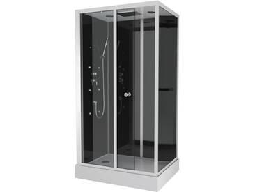 Cabine de douche DARK PRIME rectangle 110x80x220cm