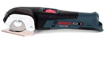 Bosch GUS 12V-300 Professional Cisaille universelle sans fil avec boîtier L-Boxx + 2x Batteries GBA 12V 2,5 Ah + Chargeur GAL 1230