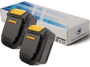 Lot de 2 batteries pour DEWALT DCS320 scie alternative 3000mAh 14.4V