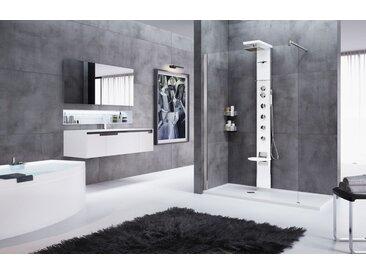 colonne douche équipée avec mitigeur douche cascade 3 novellini | Thermostatique - blanc