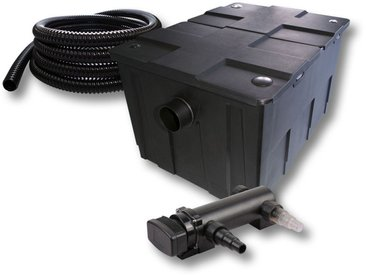 SunSun Kit de filtration de bassin 60000l 18W UVC 3. Stérilisateur et 5m Tuyau