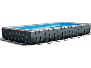 Piscine hors-sol Intex 26374 ex 26372 rectangulaire Ultra Frame 975x488x132