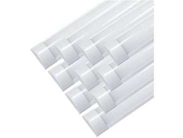 Réglette Lumineuse LED 150cm 48W (Pack de 10) - couleur eclairage : Blanc Neutre 4000K - 5500K