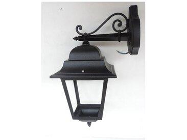 Applique exterieure classique noire 215x430x290mm lampe E27 (non incl) diffuseur verre clair IP44 MICHELANGELO SG LIGHTING 22121