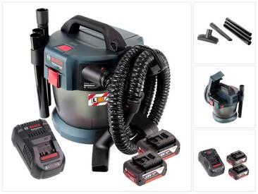 Bosch GAS 18V-10 L Professional Li-Ion Aspirateur sans fil pour poussières et liquide + 2x Batteries GBA 5,0 Ah Akku + Chargeur GAL 1880 CV