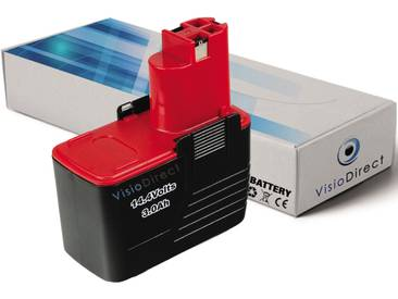 Batterie pour Bosch GSR 14,4 VES2 perceuse visseuse 3000mAh 14.4V