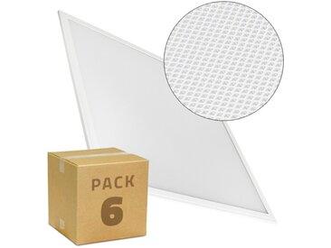 PACK Panneaux LED Slim 60x60 40W 4000lm (UGR17) (6x23.6€) Blanc Froid 6000K-6500K