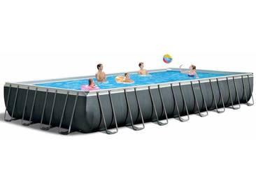 Piscine hors-sol Intex 26378 ex 26376 rectangulaire Ultra Frame volley-ball 975x488x132