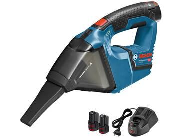 Aspirateur sans fil 12 V Bosch Professional + 2 batteries 3.0 Ah + Chargeur