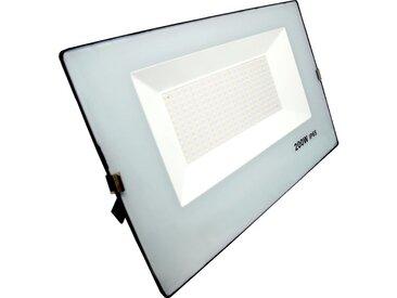 Projecteur LED Extérieur 200W IP65 - BLEU GRIS - couleur eclairage : Blanc Froid 6000K - 8000K