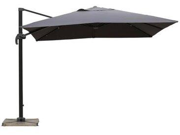 Parasol déporté 3x3 gris UPF 50+ - ZUN