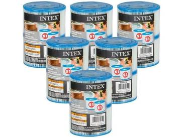12 cartouches Pure Spa Intex (6 lots de 2 filtres)