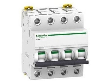 Acti9, iC60N disjoncteur 4P 20A courbe C Schneider Electric