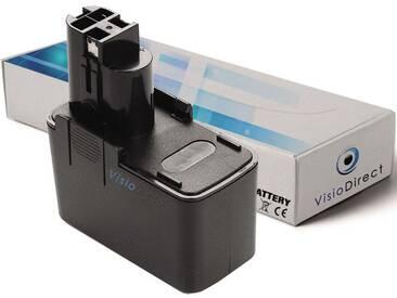 Batterie type 2 607 335 151 pour Bosch 3000mAh 12V -VISIODIRECT-