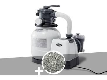 Groupe de filtration à sable 6 m³/h + 20 kg de zéolite - Intex