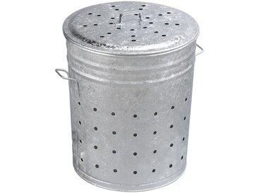 Bac multi-usages en acier galvanisé 100 litres