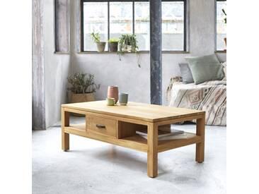 Table basse en bois de teck 110x60 Vertigo