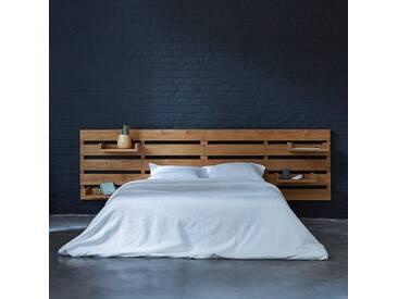 Tête de lit en bois de teck 270 Urbain