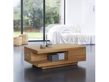 Table basse en bois de Teck 120x70 Coffee Tek