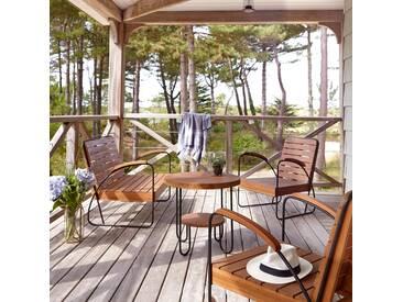 Salon de jardin 4 places en teck Key Wood