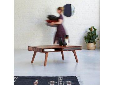 Table basse en bois de palissandre 115x60 Niels