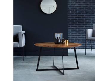 Table basse en bois dacacia 80 Temis