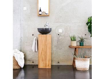 Meuble Salle de bain en bois de Teck 30 Stelle gauche