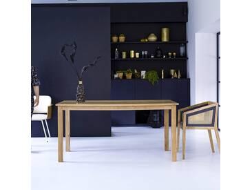 Table en bois de manguier 160x90 Rafael