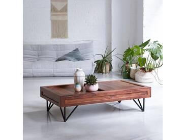 Table basse en bois de palissandre 120x68 Bonnie