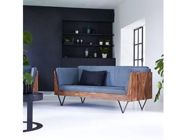 Canapé en bois de palissandre Metric