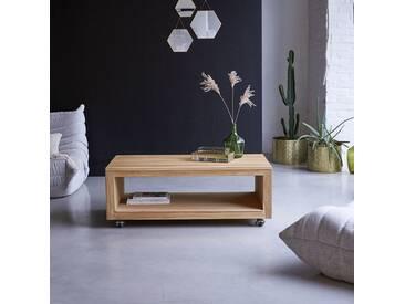Table basse en bois de teck 110x60 Anoa