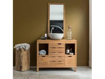 Meuble Salle de bain en en bois de teck 100 Serena